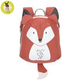 【新品上市送收納盒】德國Lassig-兒童動物造型後背包-狐狸