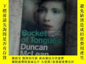 二手書博民逛書店duncan罕見mclean bucket of tongues