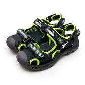 LIKA夢 DIADORA 22cm-25cm 迪亞多那 護趾運動涼鞋 遊樂山林系列 黑螢綠 6080 大童