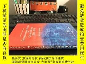 二手書博民逛書店Governance罕見and Policing of Colo