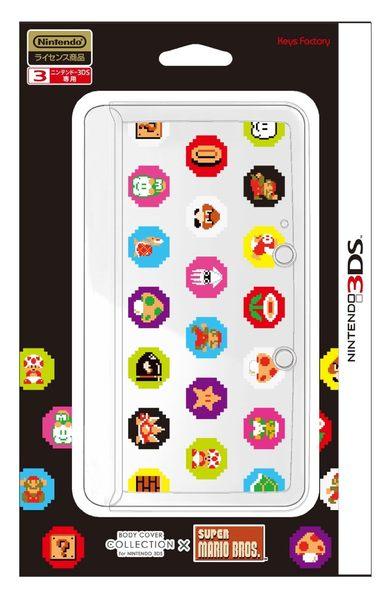 3DS 瑪利歐機殼 透明