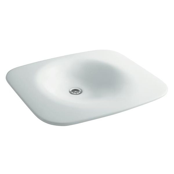 【麗室衛浴】美國廠 KOHLER   Fountainhead系列 石材檯面盆 K-2352-TH
