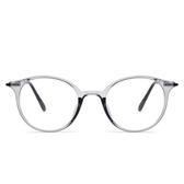鏡架(圓框)-新款時尚個性透明男女平光眼鏡5色73oe50【巴黎精品】