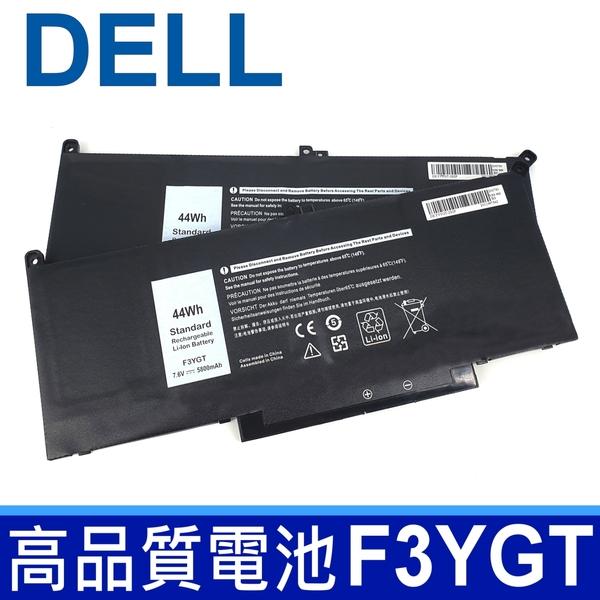 DELL F3YGT 原廠規格 電池 2X39G 0F3YGT Latitude 12 7000 7280 7290 12 E7280 13 7380 7390 E7380 14 7480 7490 E7480