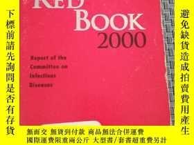 二手書博民逛書店Red罕見Book 2000:report of the committee on infectious dise