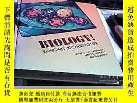 二手書博民逛書店BIOLOGY!罕見BRINGING SCIENCE TO LI