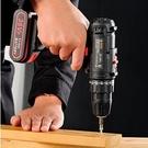 電動工具組 日常家用電鉆手工具套裝五金電工專用維修多功能工具箱木工【快速出貨八折鉅惠】