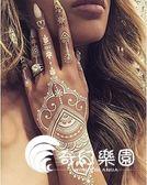 歐美新娘白色蕾絲紋身貼 時尚個性婚禮蕾絲紋身貼紙-奇幻樂園