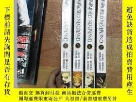 二手書博民逛書店THE罕見PROMISED NEVERLAND(2-5)四本合售Y265801 Kaiu Shirai Viz