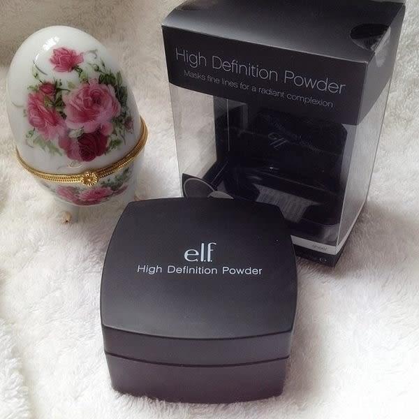 【愛來客 】美國ELF高清晰無痕蜜粉 High Definition Powder