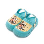 【拉拉熊 貓咪頭套好夥伴園丁鞋 藍 R027 中小童鞋 鞋全家福】