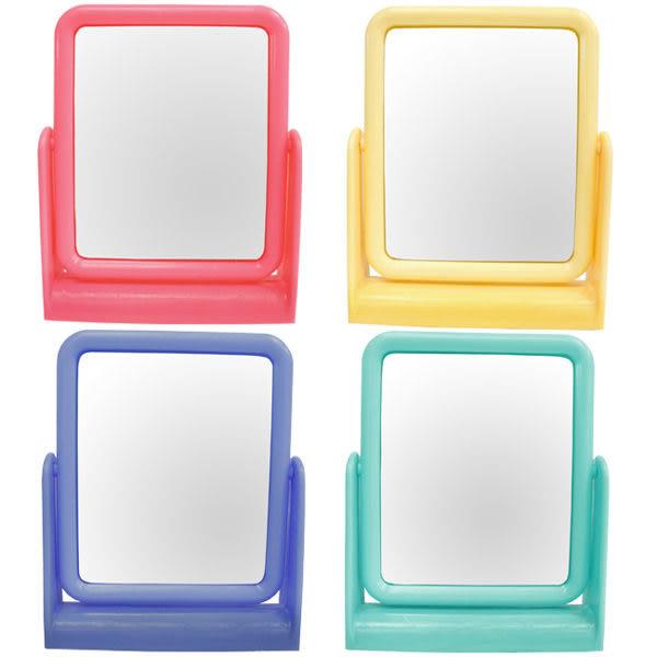 粉彩 方型立鏡 (不挑色)