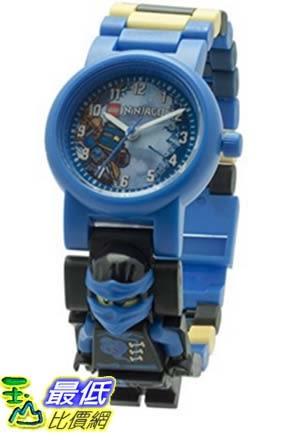 [美國直購] LEGO 8020530 人偶兒童手錶 忍者 Kids Ninjago Sky Pirates Plastic Minifigure Link Watch