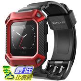 [8美國直購] SUPCASE-Fitbit 保護殼 保護套 Blaze Bands  Protective  Fitbit Blaze Fitness Smart Watch (Red)
