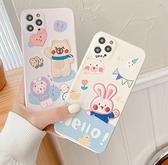 iPhone 11 Pro Max 手機殼 卡通刺繡 個人化創意 網紅情侶 可愛 保護套 鏡頭保護孔 全包軟殼 保護殼 i11