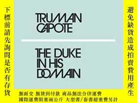 二手書博民逛書店The罕見Duke In His DomainY364153 Truman Capote Penguin Cl