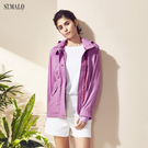 【ST.MALO】綠森林頂級防護防曬UPF50+外套-1851WJ-鳶尾紫