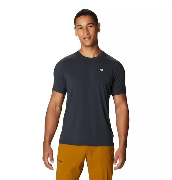 [好也戶外]Mountain Hardwear Crater Lake™ Short Sleeve T男快乾短袖排汗衣 深灰 No.1829341