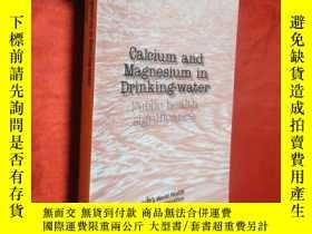 二手書博民逛書店Calcium罕見and Magnesium in Drinki