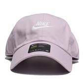 NIKE 運動帽 老帽 FUTURA WASHED CAP 夢幻紫 粉紫 刺繡LOGO 調整式 (布魯克林) 913011-576