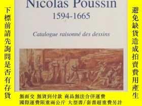 二手書博民逛書店Nicolas罕見Poussin 1594-1665 Catal