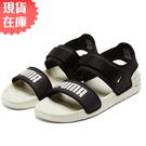 【現貨】PUMA SOFTRIDE SANDAL 男女鞋 涼鞋 休閒 舒適 可調式 黑白【運動世界】37510402