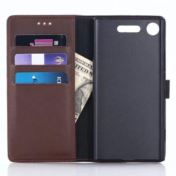 SONY XZ1 Compact XZ Premium XZ1 復古皮套 皮套 手機皮套 保護套 磁扣 支架 內硬殼 插卡