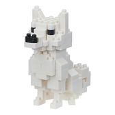 《 Nano Block 迷你積木 》NBC-280 北海道犬 ╭★ JOYBUS玩具百貨