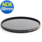 24期零利率 Kenko Pro1D ND8多層鍍膜減光鏡 58mm 正成公司貨
