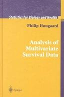 二手書博民逛書店《Analysis of Multivariate Survival Data》 R2Y ISBN:0387988734