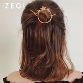 髮夾髮飾晚禮服頭飾星星日系【奇趣小屋】