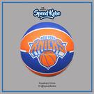 SPALDING 籃球 NBA 尼克 隊徽 藍橘 室外 7號球 SPA83159【SP】