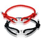 手鍊可刻字情侶手鍊 男女款紅繩手繩定制正韓學生簡約