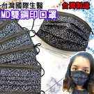 國際生醫 平面醫療口罩-小香風【50入】...
