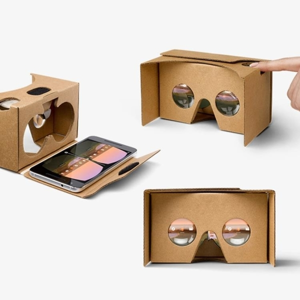 VR眼鏡 vr眼睛手機專用google谷歌眼鏡智慧cardboard紙盒2代4代5代3d盒子  交換禮物