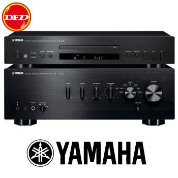 YAMAHA A-S300+CD-S300 Hi-Fi 兩聲道音樂組合 黑色 公貨 送高級RCA連接線 山葉