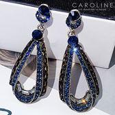 《Caroline》★韓國熱賣復古造型時尚耳環  個性大氣時尚流行耳環70068