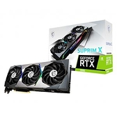 微星 MSI GeForce RTX 3090 24G SUPRIM X PCI-E 顯示卡