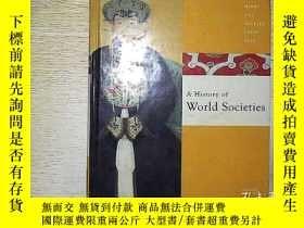 二手書博民逛書店A罕見HISTORY OF WORLD SOCIETIES (1