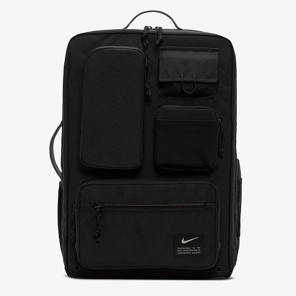 NIKE Utility Elite 訓練 健身 後背包 雙肩包 旅行包 氣墊 大容量 多口袋 黑【運動世界】CK2656-010