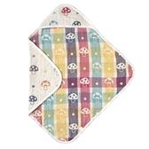 日本 Hoppetta 六層紗蘑菇包巾(方型)[衛立兒生活館]