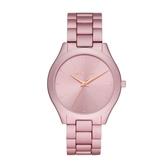 MICHAEL KORS優雅粉紅時光設計腕錶MK4456