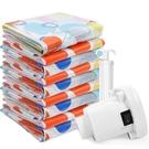 壓縮袋 送電泵抽氣真空壓縮袋收納袋子大號...