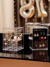 耳環盒子透明整理耳釘亞克力耳飾飾品防塵掛架展示項鍊首飾收納盒
