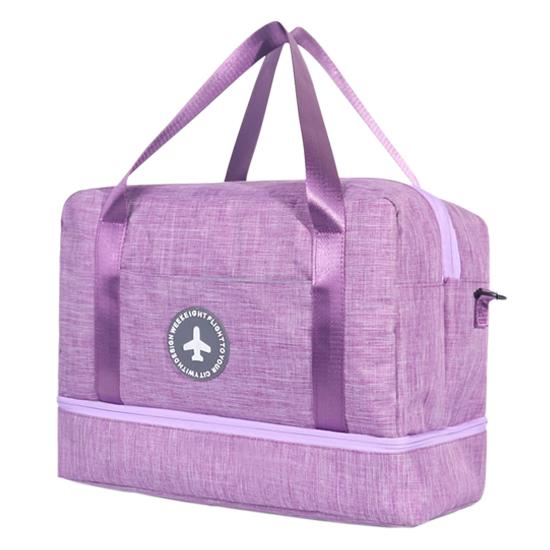 行李袋 登機包 拉桿包 收納包 收納袋 洗漱袋 大容量 防水 乾濕分離 刷色分層旅行袋【N011】MY COLOR