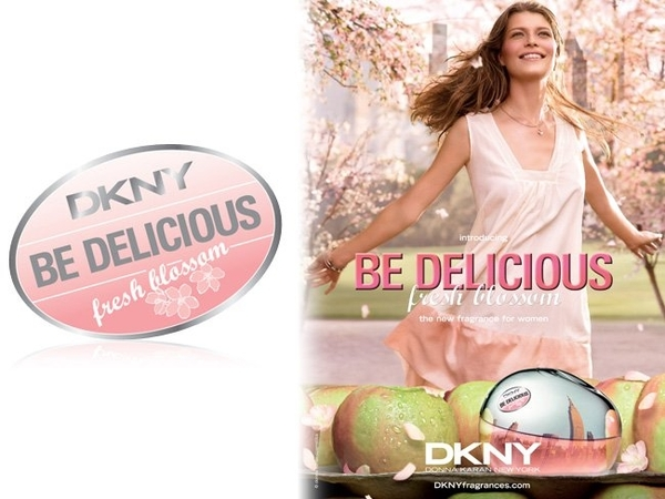DKNY 粉戀蘋果 Be Delicious Fresh Blossom 淡香精 50ml TESTER◐香水綁馬尾◐