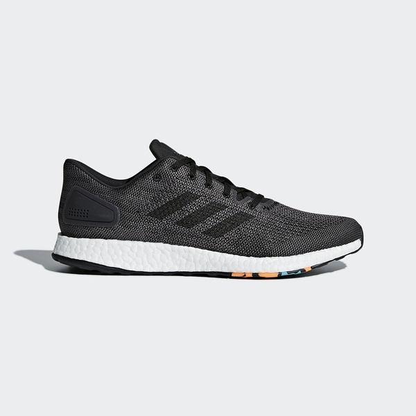 Adidas Pureboost DPR [CM8315] 男鞋 運動 休閒 慢跑 輕量 針織 避震 支撐 愛迪達 黑灰