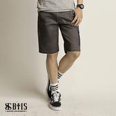 【BTIS】單寧拼接口袋短褲 / 鐵灰色