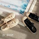 IN'SHOP休閒鞋-經典款百搭布面休閒鞋-共2色【KF01022】