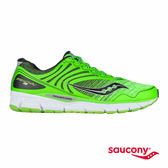 SAUCONY BREAKTHRU 2 輕量緩衝專業訓練鞋-綠x黑